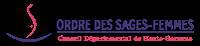 Ordre des sages-femmes de Haute Garonne Logo
